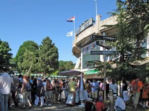 Place des Mousquetaires at Roland Garros