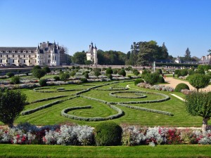 Garden of Chenonceau (Loire Valley)