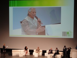 Conference with Pr. Yunus