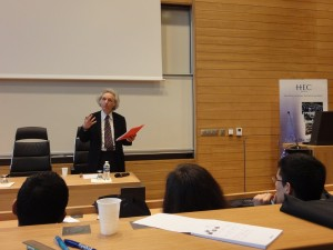 Theodore Zeldin at HEC Visions of Leadership