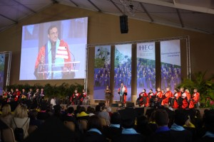 Commencement ceremony of the HEC MBA